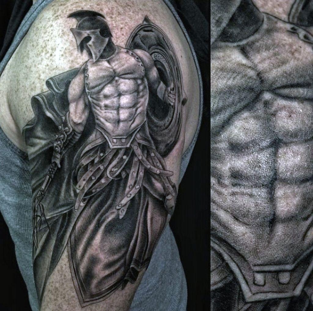 Krieger Tattoo für TattooKunst Krieger KriegerTattoo