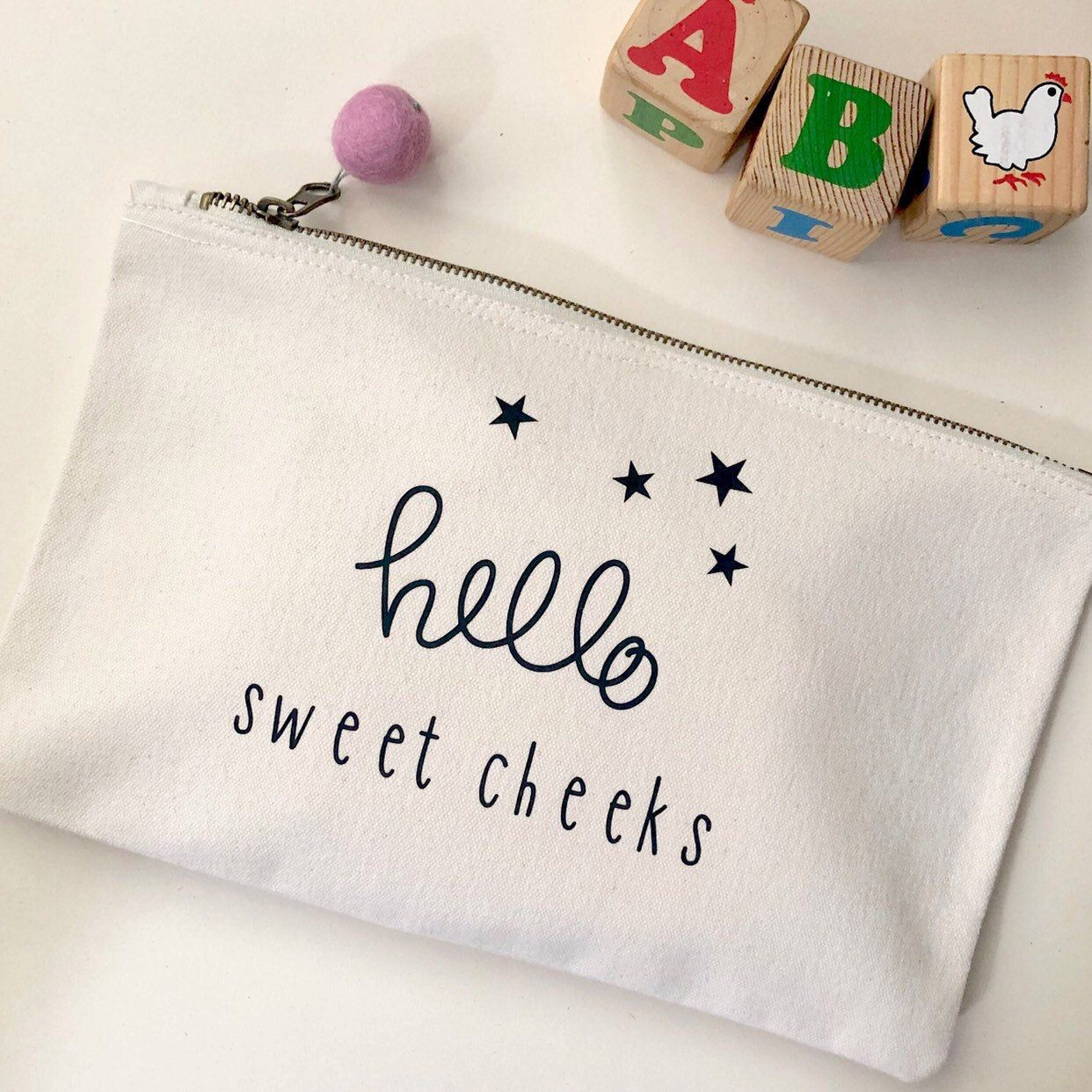 Personalised Babies Nappies and Wipes Baby Shower Gifts Baby Nappy Bag Gifts New