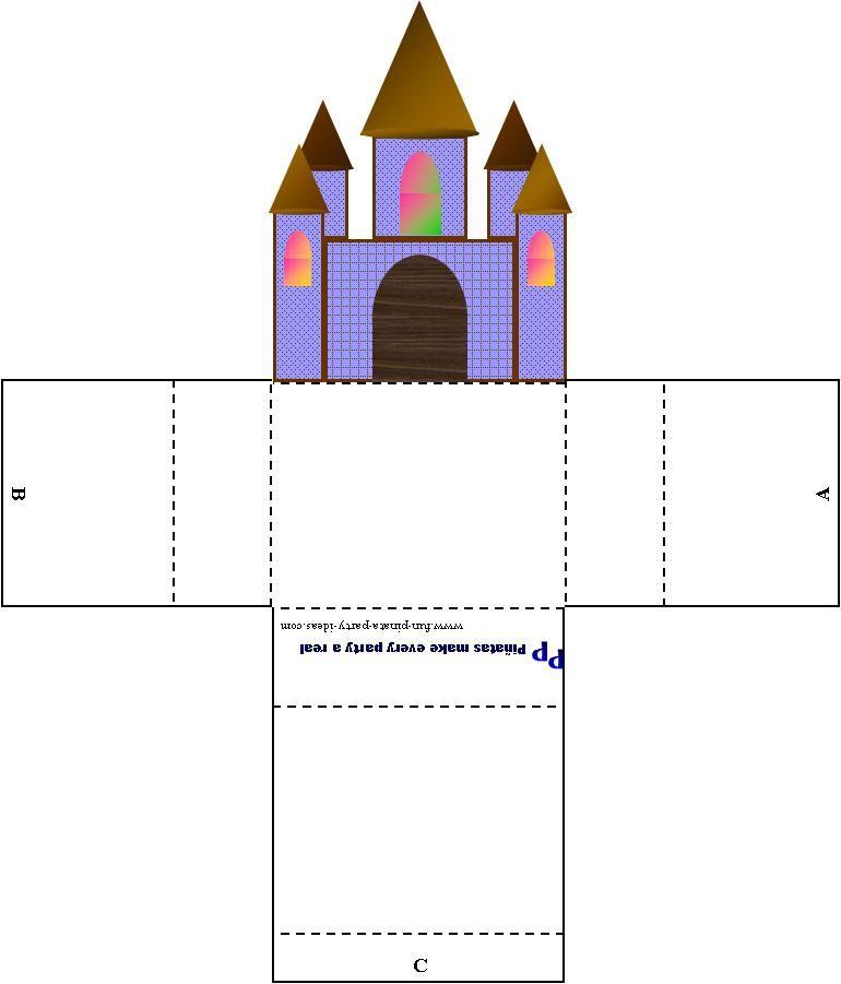 поделка замок из картона своими руками схемы шаблоны таганае ложится раньше