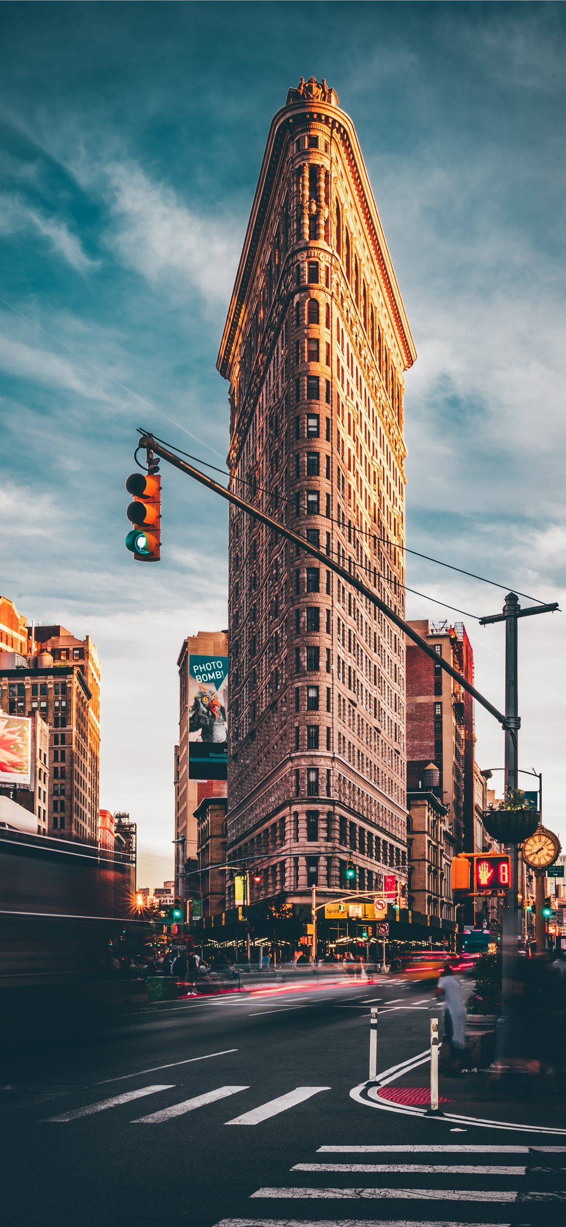 Flatiron Building New York United States iPhone X
