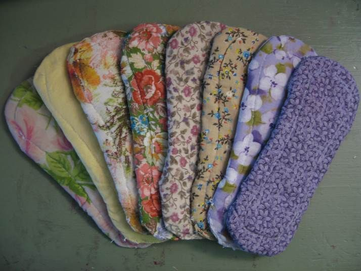 How To Make Your Own Menstrual Pads A Very Simple Pattern With