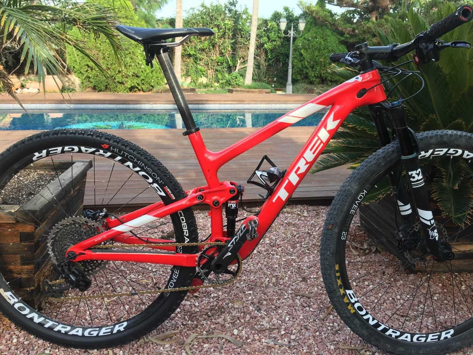 Bicicleta De Montaña Trek Top Fuel Ref 40217 Talla 17 Año 2018 Cambio Sram Xx1 Eagle Cuadro De Carbono Suspen Bicicletas Bicicletas Trek Arte Bicicleta