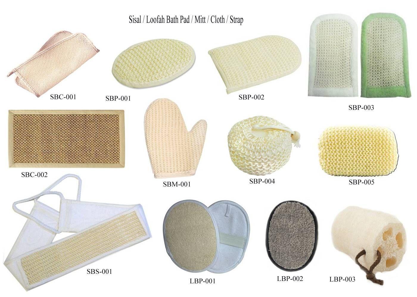 Loofah and Sisal Bath Pad / Sponges - every woman needs one :) | Loofah,  Bath pad, Manicure set