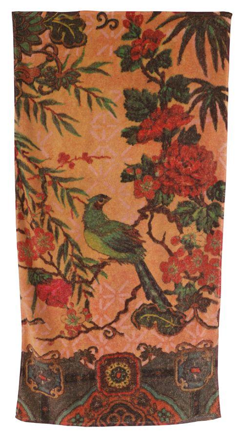 Tropical Peacock - Fresco towels.
