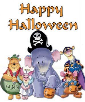 Winnie the Pooh Happy Halloween by Elysia in Wonderland ...