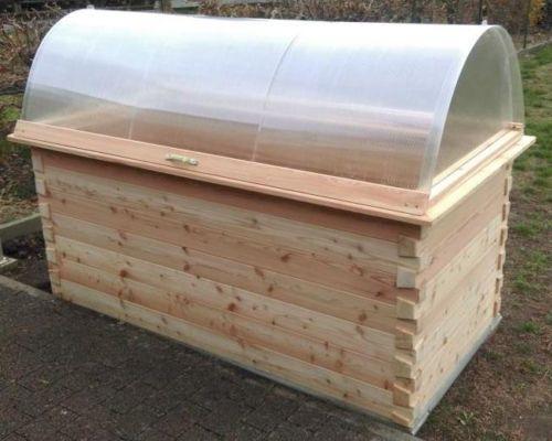 Hochbeet Extravagant Laerchen Holz 70mm Wandstaerke 250x125x85cm Hochbeet Fruhbeetaufsatz Holz