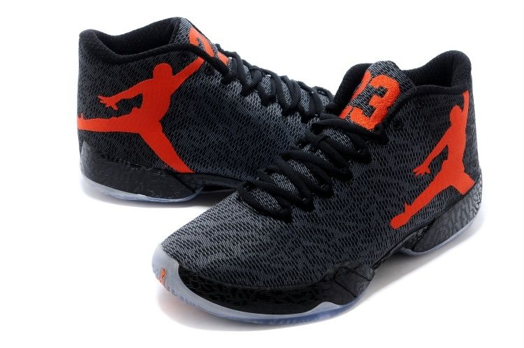 cd5e985912dba6 Air Jordan XX9 (29) Black Team Orange-Dark Grey Cheap