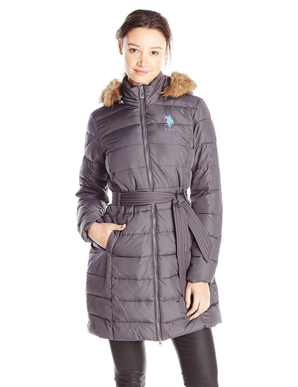 U S Polo Assn Juniors Outerwear 01 8175 Pf Nwgy Faux Choose Sz Color Coats Jackets Women Long Puffer Womens Faux Fur [ 1500 x 1154 Pixel ]