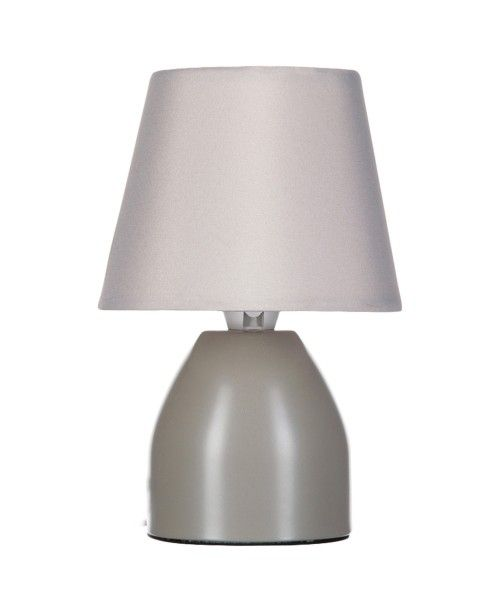 Lampe De Chevet Diam 12 5 Cm Taupe Lampe De Chevet Lampe