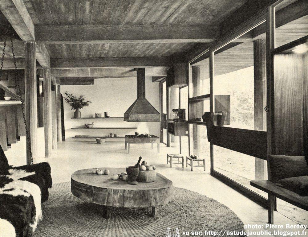Saint Brevin Les Pins Villa Chupin Andre Wogenscky Architecte Maison De Vacances Architecture Moderne