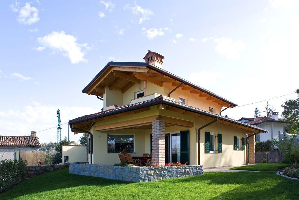 Abbattimento di una casa in cemento e ricostruzione con il legno certo che si pu fare la - Fare una casa in legno ...