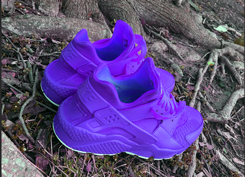 Candy Paint Nike Air Huarache In Red, Pink, or any (1) colorway ...