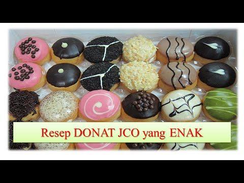 Resep Donat Jco Yang Mudah Dan Empuk Youtube Resep Donat Isi Resep Kue