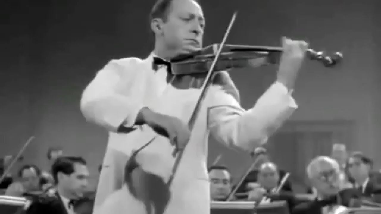 Jascha Heifetz - Introduction and Rondo Capriccioso - YouTube