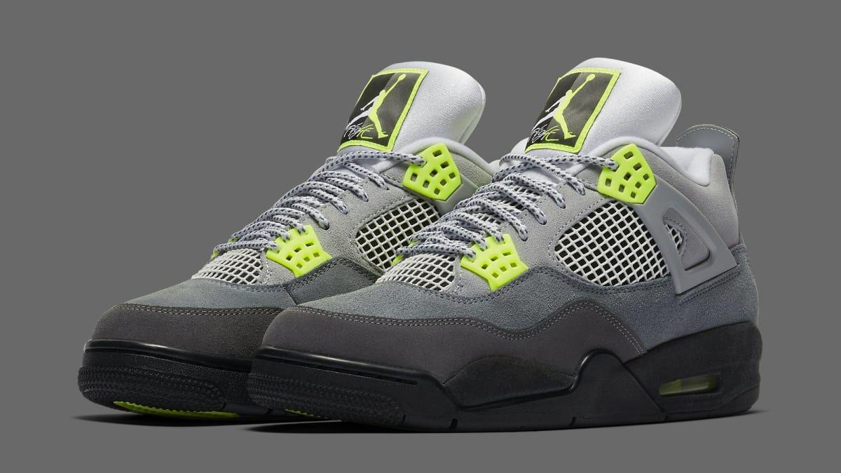 Air Jordan 4 'Neon Air Max 95' Erscheinungsdatum CT5342 007