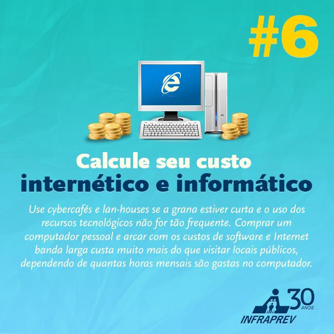 Calcule seus gastos.                                    Confira os nossos serviços: http://www.iinterativa.com.br/