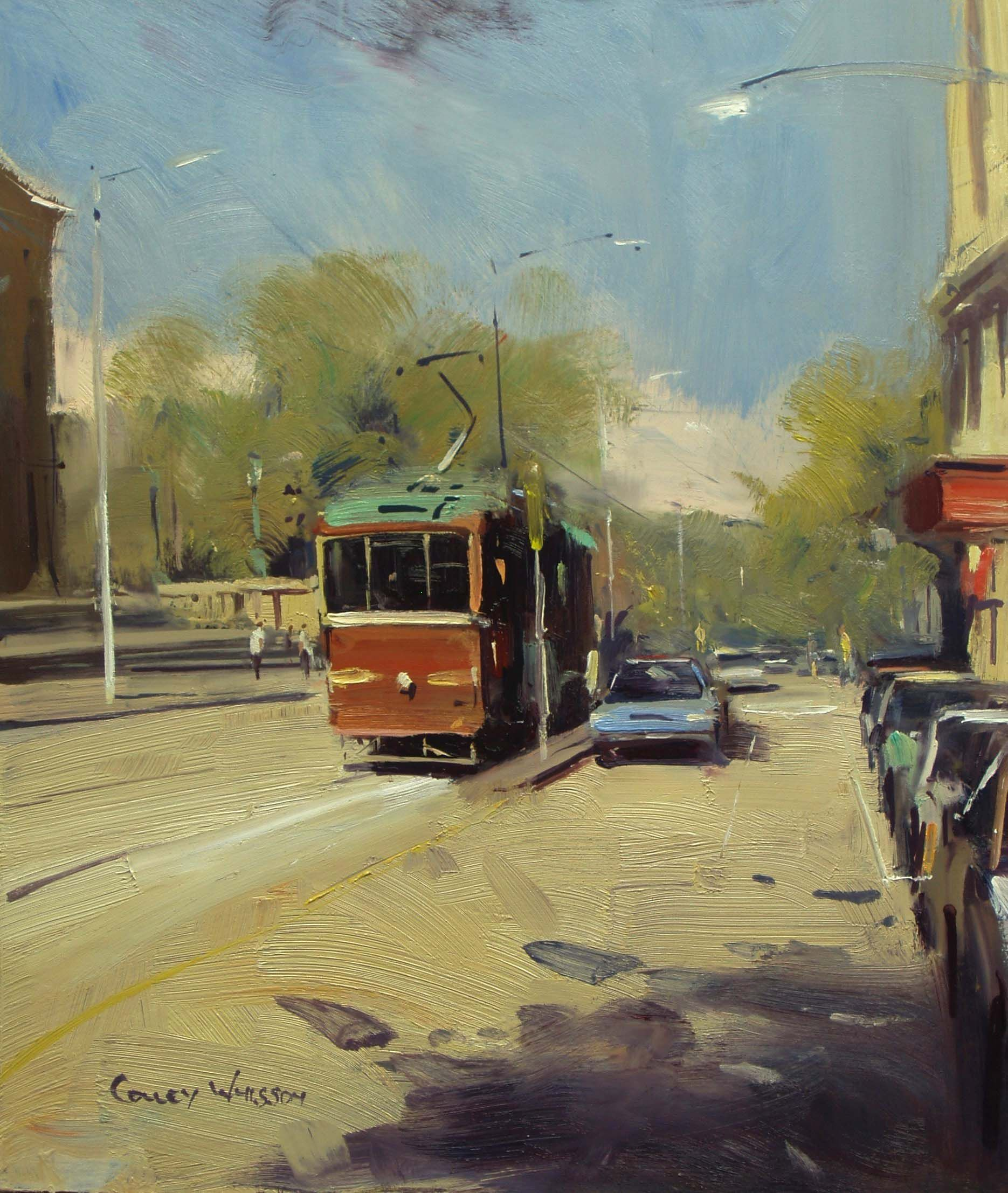 Tell a story through your brushwork and design. Always try to lead the eye around the painting. Enroll in Colley Whisson's 365 day access with mentoring Online course. Click image to learn more