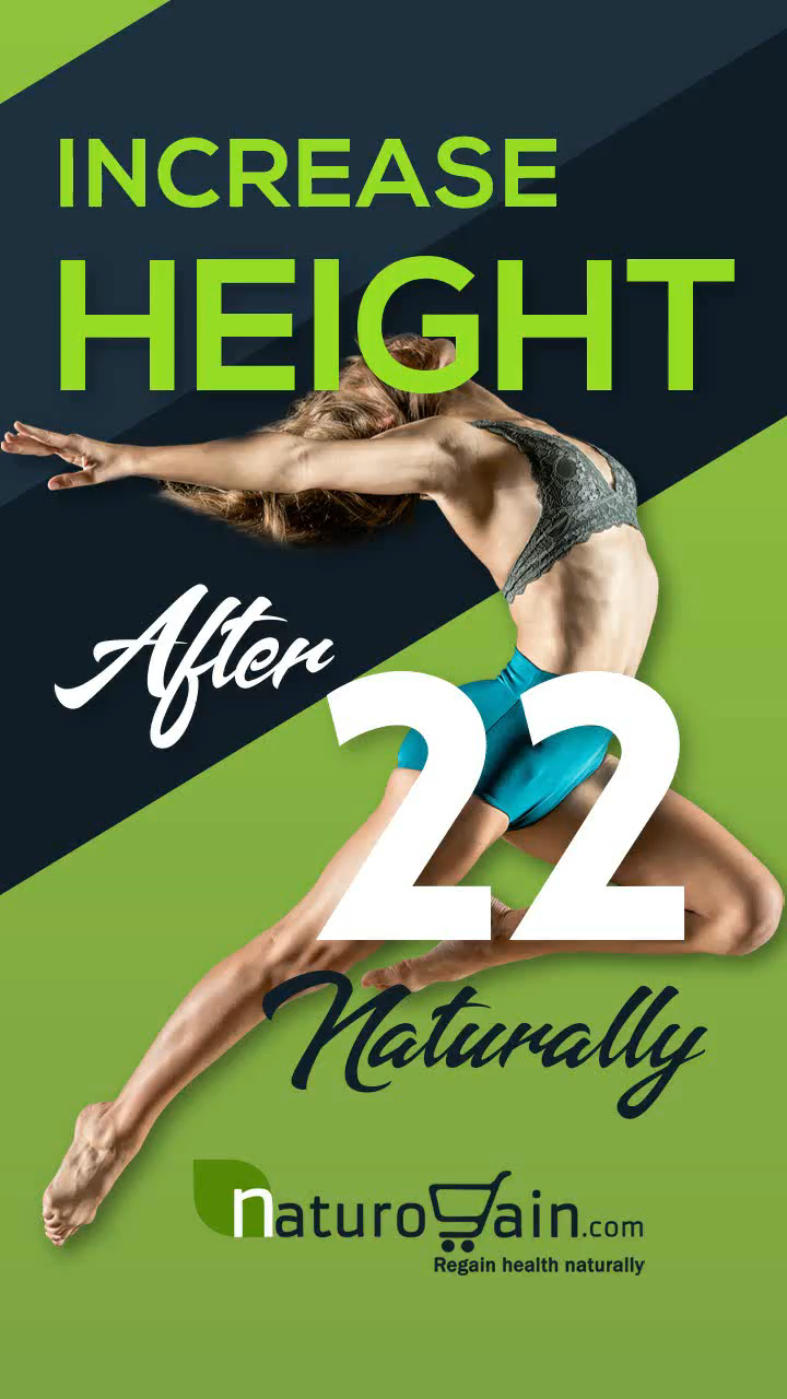 How to Increase Height after 22 for Girl