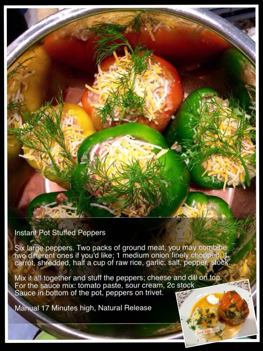 recipe: stove top stuffed peppers in tomato sauce [37]