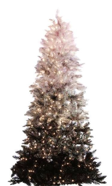 Ombre Christmas Tree Christmas Trees Black Christmas Tree