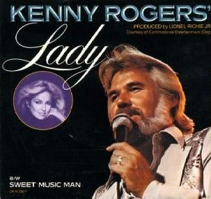 """""""Lady"""" (Kenny Rogers song) 1980 #music   Swear to goodness this song is the bees knees. Was rocking the heck out of this the other day."""