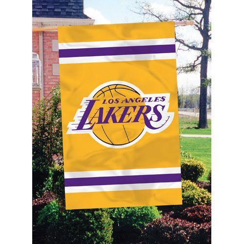 Los Angeles Lakers NBA Applique Banner Flag (44x28)