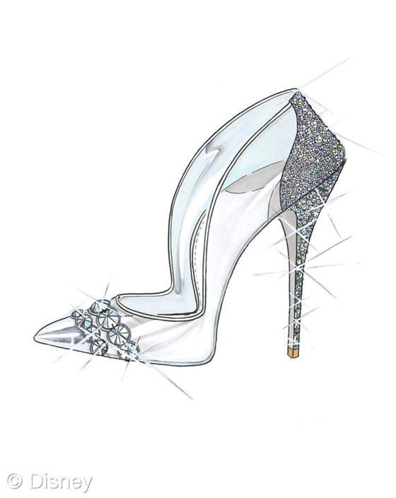 Cinderella S Glass Slippers Come To Life In Designer Creations Glass Slipper Cinderella Shoes Cinderella Slipper