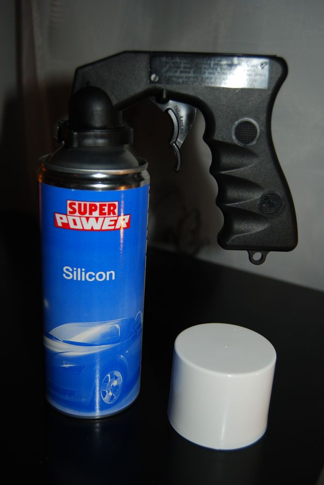 The spray & other tools -  -