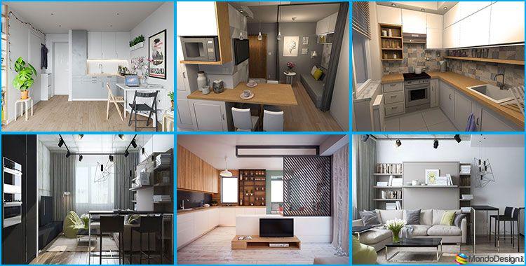 Come Arredare Una Casa Di 30 Mq 6 Progetti Di Design Progetti