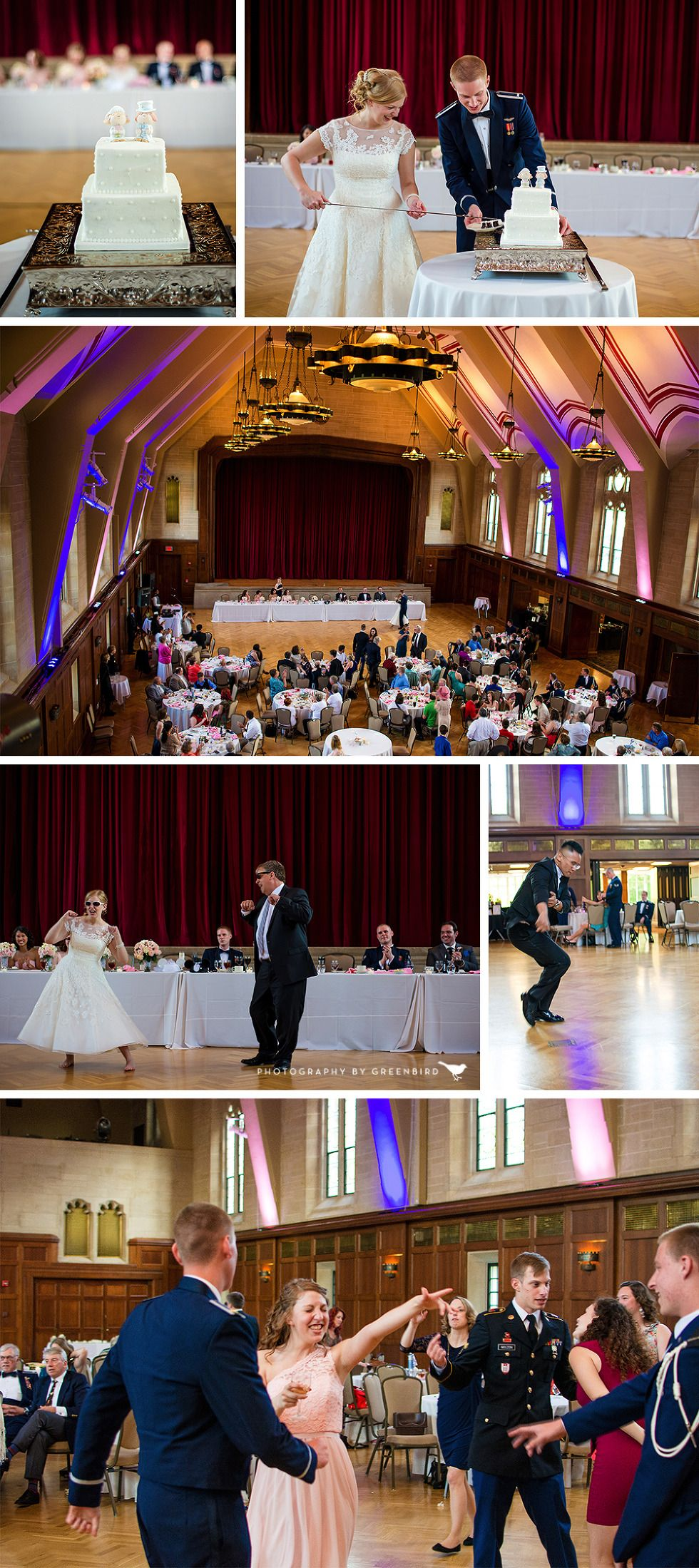 Indiana Memorial Union Wedding Bloomington