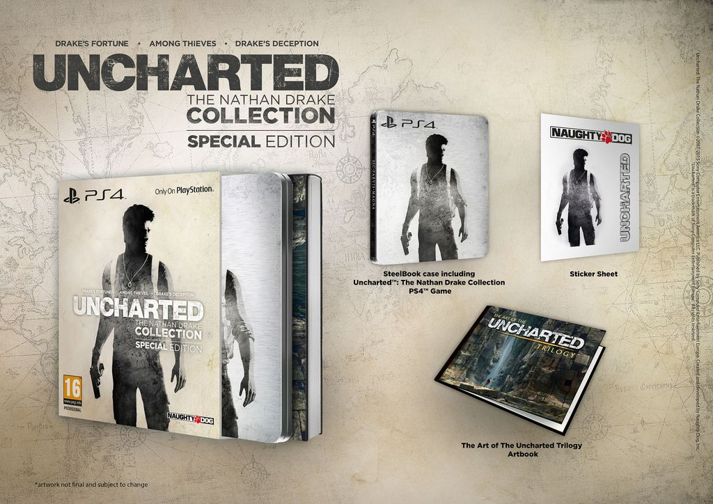 Uncharted The Nathan Drake Collection Special Edition Announced Lightning Gaming News Nathan Drake Uncharted Nathan Drake Collection Drake