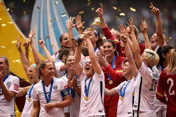 U.S. Women's National Team Wins 2015 World Cup Finals