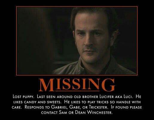 Missing Poster For Gabriel.  Make Missing Poster