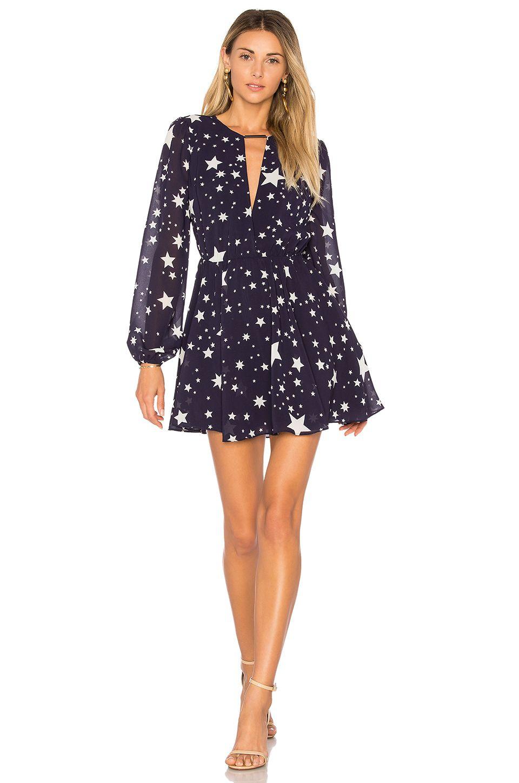 6bbed6f7e85b Lovers + Friends x REVOLVE Lana Dress in Navy Star Print