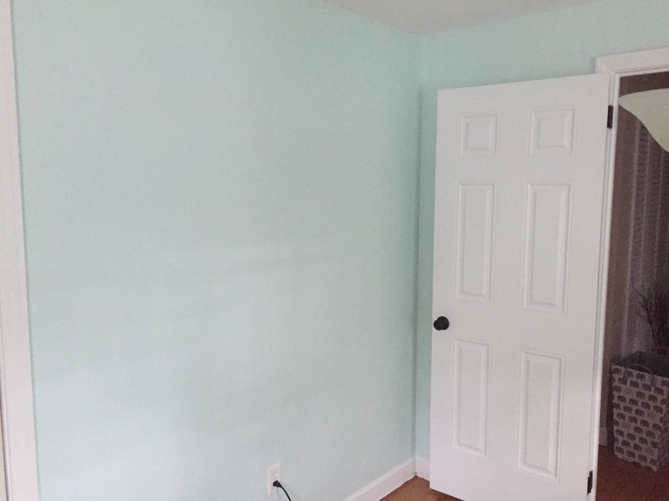 sherwin williams embellished blue for the nursery nursery ideas