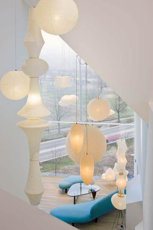 akari pendelleuchten leuchten pinterest pendelleuchten leuchten und beleuchtung. Black Bedroom Furniture Sets. Home Design Ideas