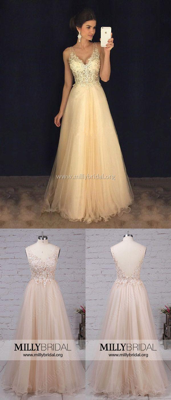 Champagne prom dresseslong prom dresses for girlssexy prom dresses
