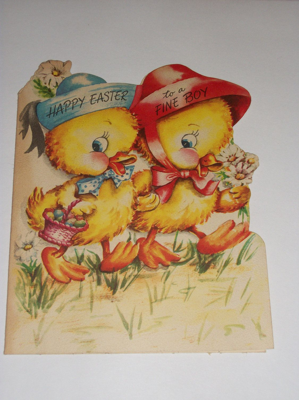 vintage easter cards printable
