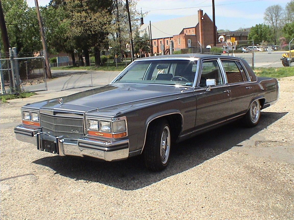 1987 cadillac fleetwood brougham now this wasn t mine but it might