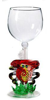 Crab Wine Glass