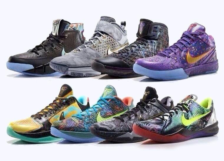 Nike kobe bryant, Shoe releases