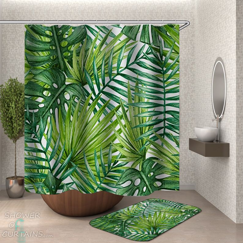 Leaf Shower Curtain - HXTC0910