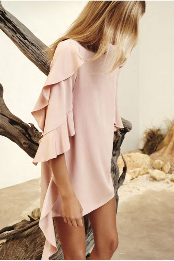 Pin By Corinne Todahl On Style Beauty Hair Pink Dress Casual
