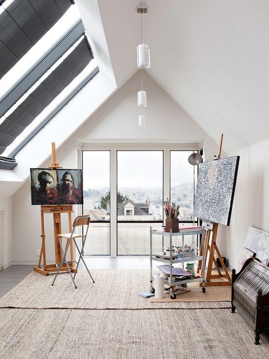 art studio lighting. \u201cLoft Studio With A Lot Of Natural Light\u201d \u201cLove Love This Space. Art Lighting