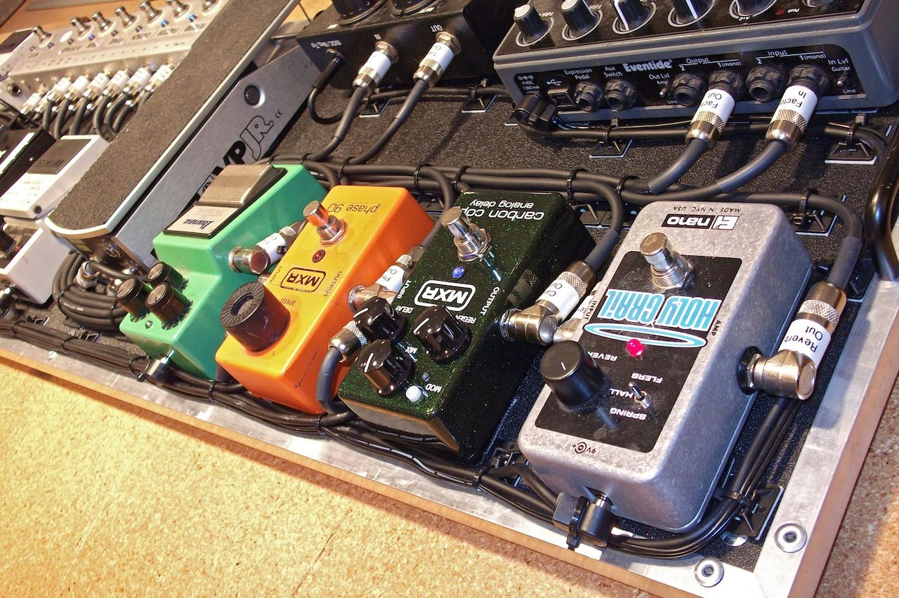 Guitar Fly Rig For Guitarist Alex Garcia Of Mayday Parade Nice
