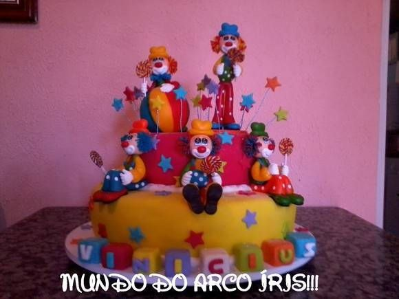 Ideia para decoracao do bolo