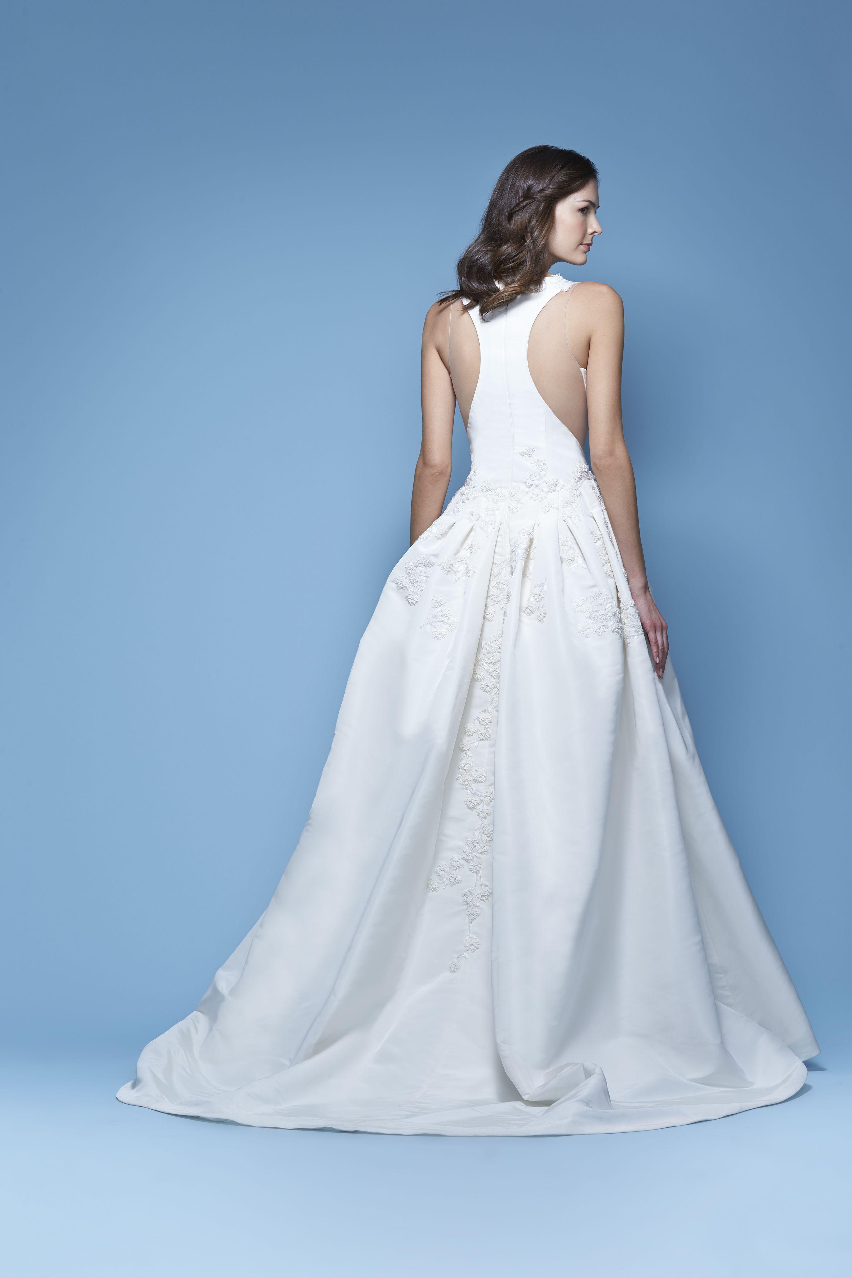 Carolina herrera bridal spring ujoelleu bridal gown the dress