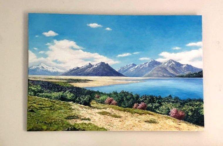30 Lukisan Pemandangan Alam Pegunungan Gambar Pemandangan Pegunungan Gambar Lukisan Pemandangan Alam Harian Nusantara Download Di 2020 Pemandangan Gambar Abstrak