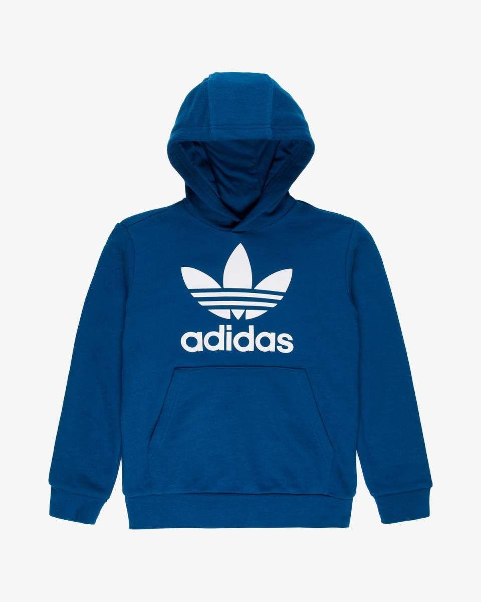 4f41c5c5 Trefoil Hoodie sweatshirt - Regular fit - Blå og hvit | www.stylepit.no