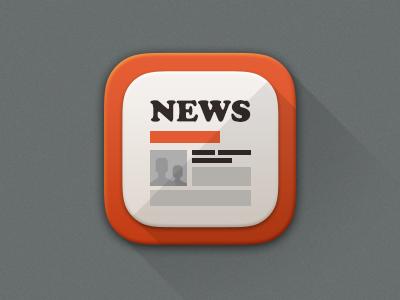 News Icon 아이콘, 로고 및 디자인